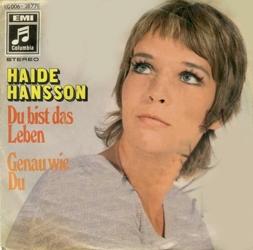 Haide Hansson Du Bist Das Leben