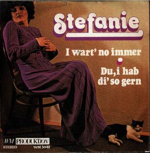 Stefanie Vyhnak* Stefanie - Die Weckuhr / Es Is A Wahnsinn (Mit Der Mode)